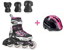 Rollerblade Spitfire Combo G 2015 + шлем Zap Kid