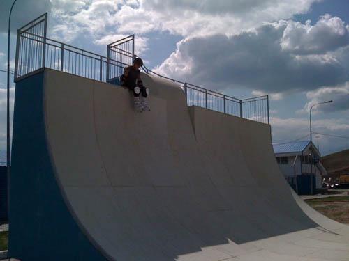 Скейт рампа 3