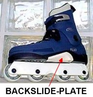 backslide - plate