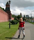 Skating around the Kremlin
